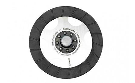 Clutch disc oil proof