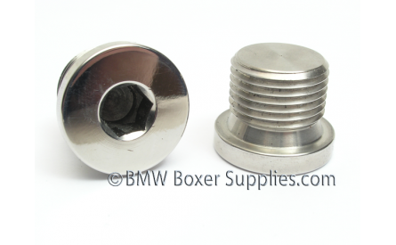Stainless Steel Oilfill-plug M18x1.5 Without Magnet