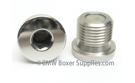 Stainless Steel Magnetic Oilfill-plug M18x1.5