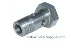 Stainless steel oil cooler bolt