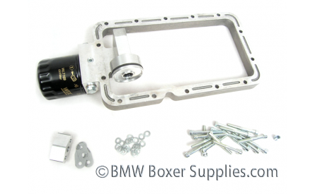Oil pan intermediate ring  25 mm with external oil filter
