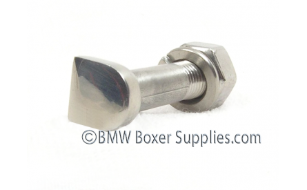 Pinch bolt M8X1 front with nut R50-69S stainless