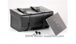Rear Leather Luggage bag Dakar