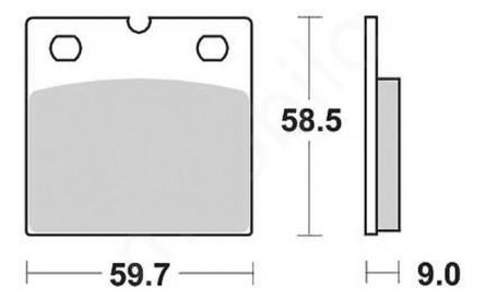 Brake pads GS 1988 on