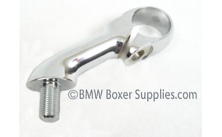 Handle bar clamp R50-69S stainless polished