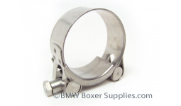 Stainless exhaust clamp 38mm