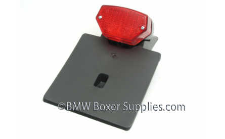 Rear light with licenceplate holder