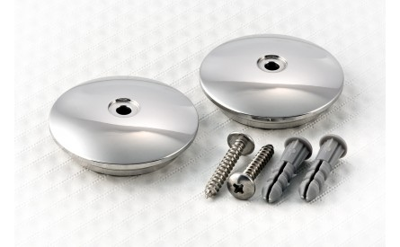 Swingarm Cover Stainless Steel 1969-1997 (per piece)