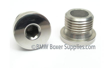 Stainless Steel Magnetic Drain and Filling plug M18X1.5